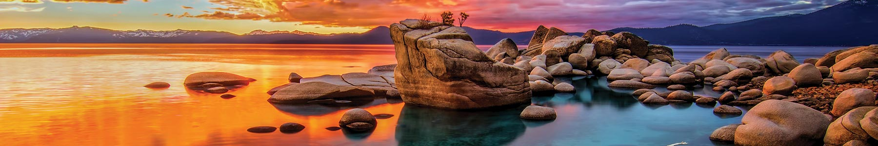 Lake Tahoe scenic photo