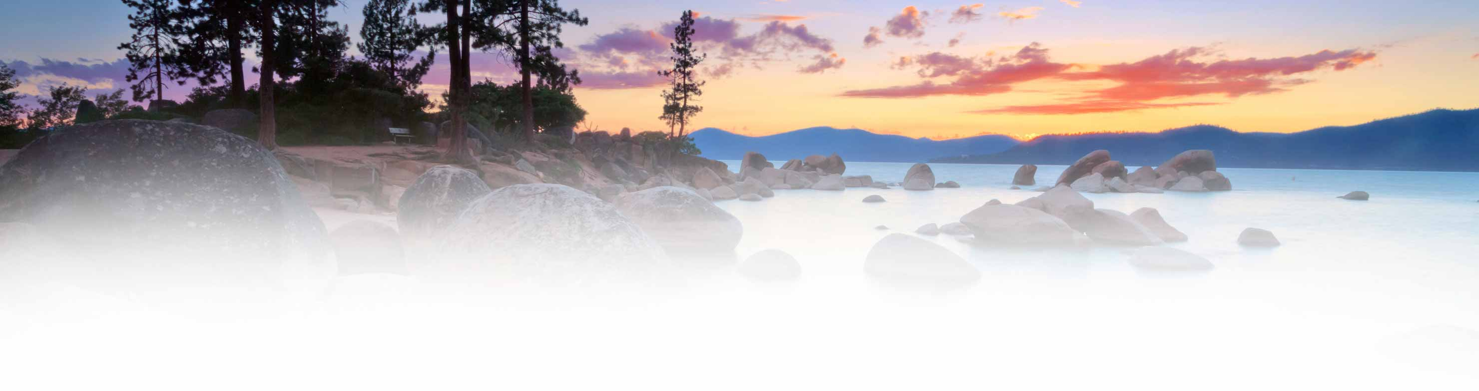 Lake Tahoe image for giving