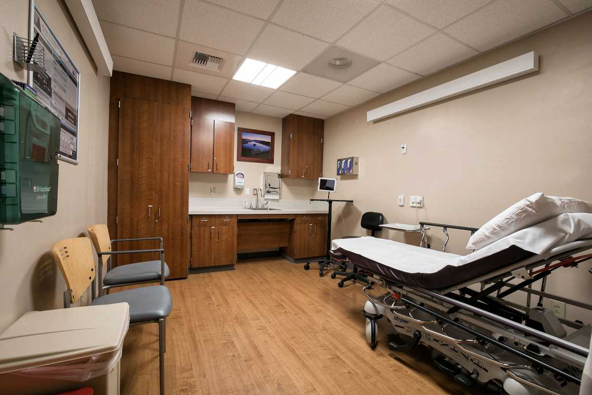 ER room 5 at Incline Village Community Hospital