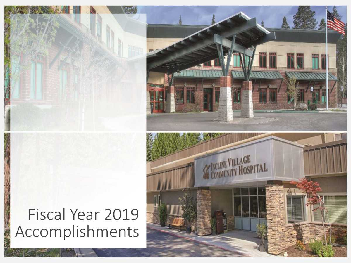 FY 2019 Annual Accomplishments report cover