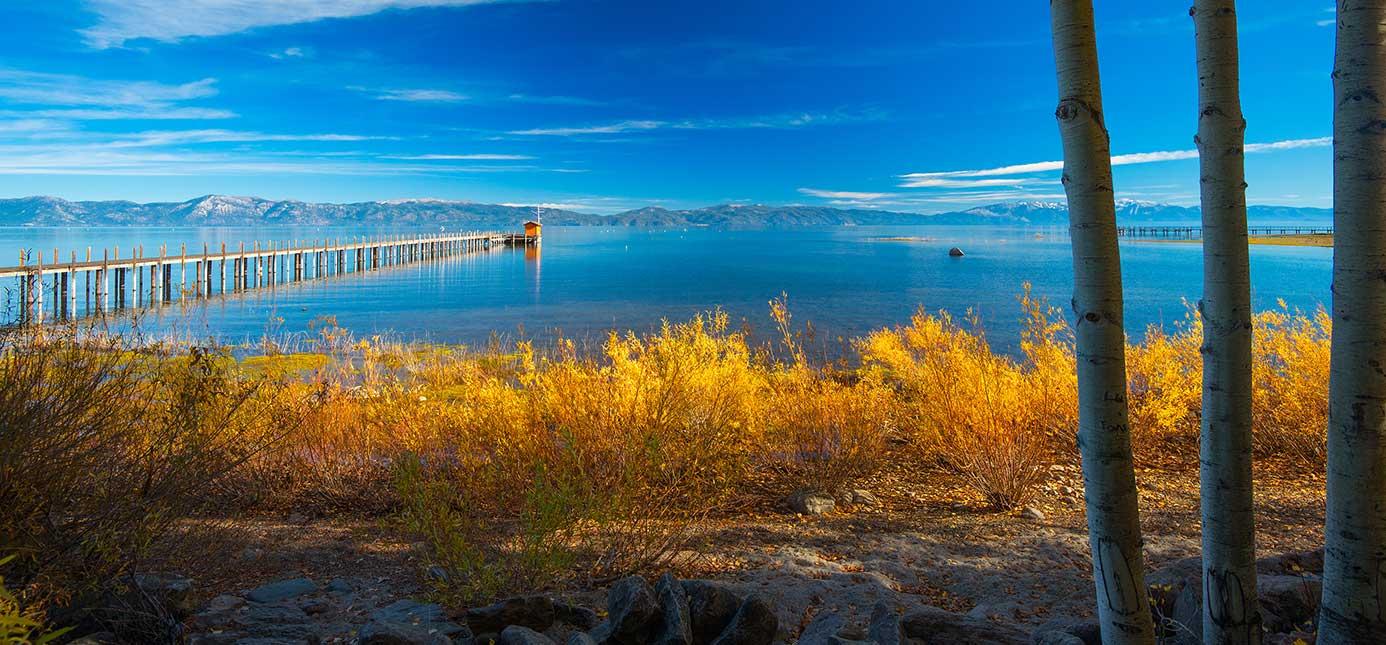 Fall at Lake Tahoe