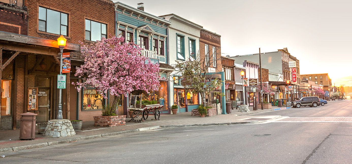 Downtown Truckee, California
