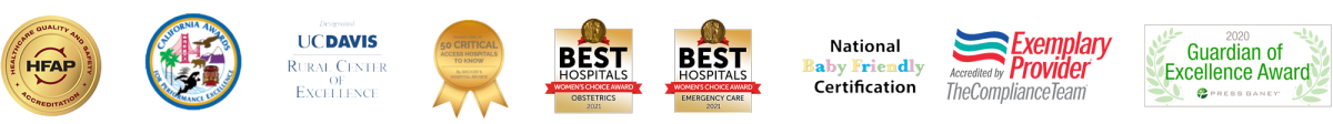 Awards and accreditations for Tahoe Forest Health System