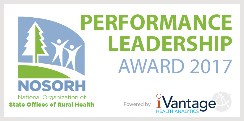 NOSORH performance leadership award 2107 logo