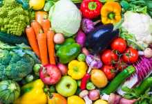healthy colorful vegetables