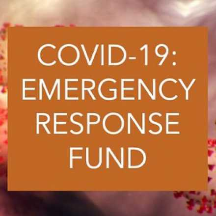 COVID-19 Emergency Response fund graphic