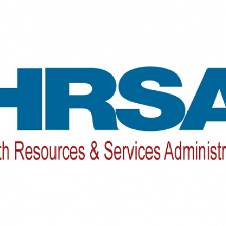The Health Resources and Services Administration Logo