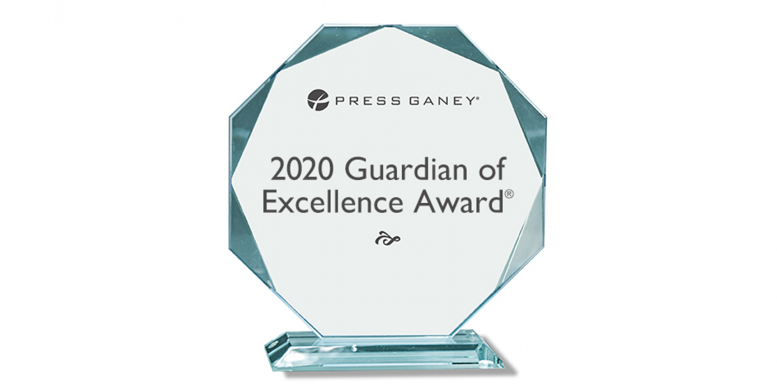 2020 Guardian of Excellence Award