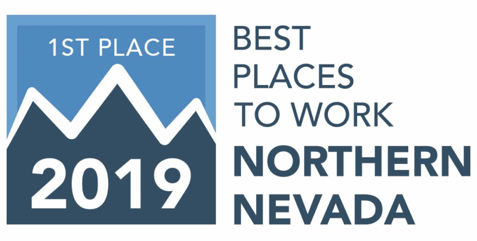 1st Place Best Places to Work Badge
