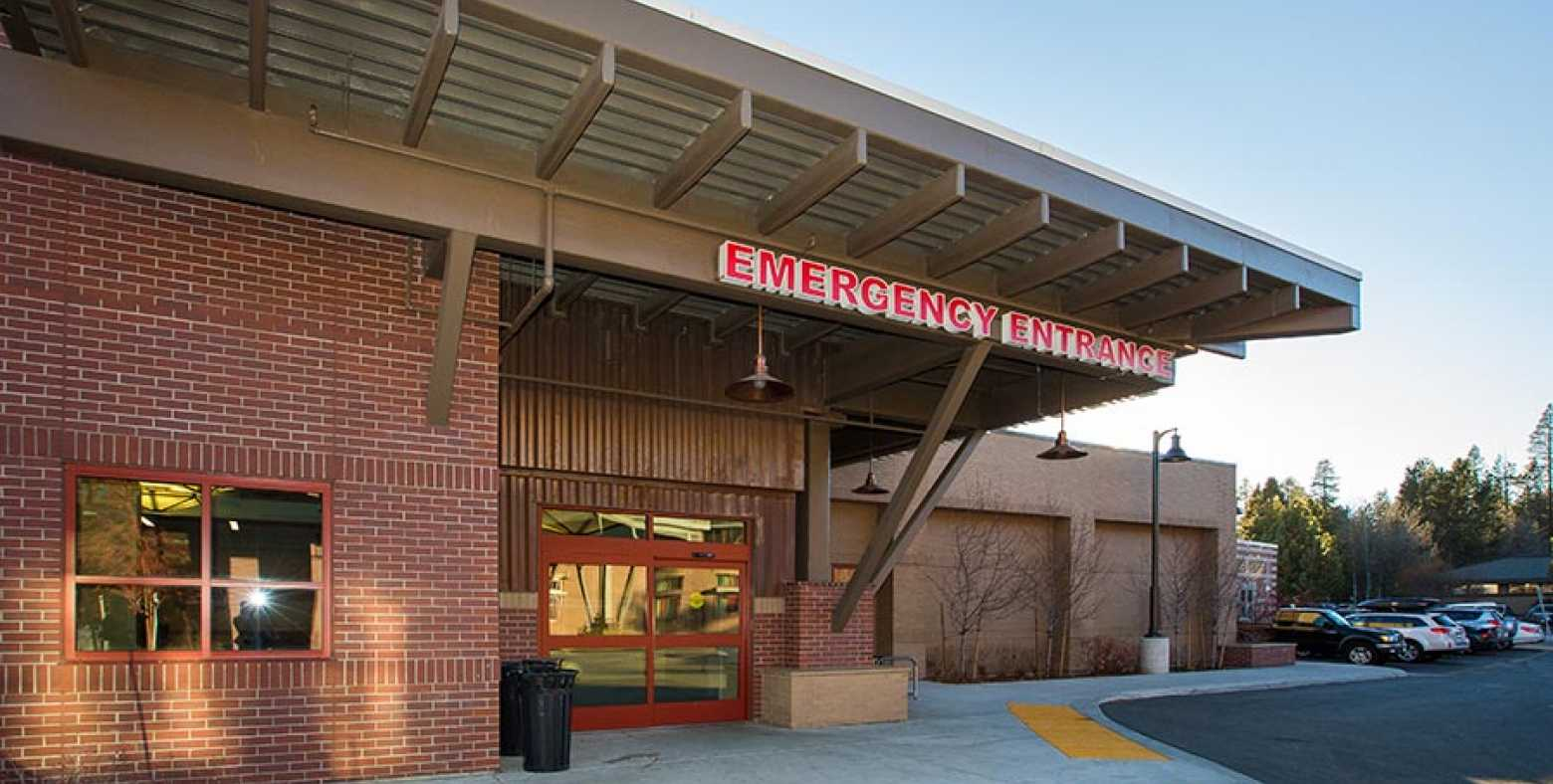Emergency Room entrance at Tahoe Forest Hospital