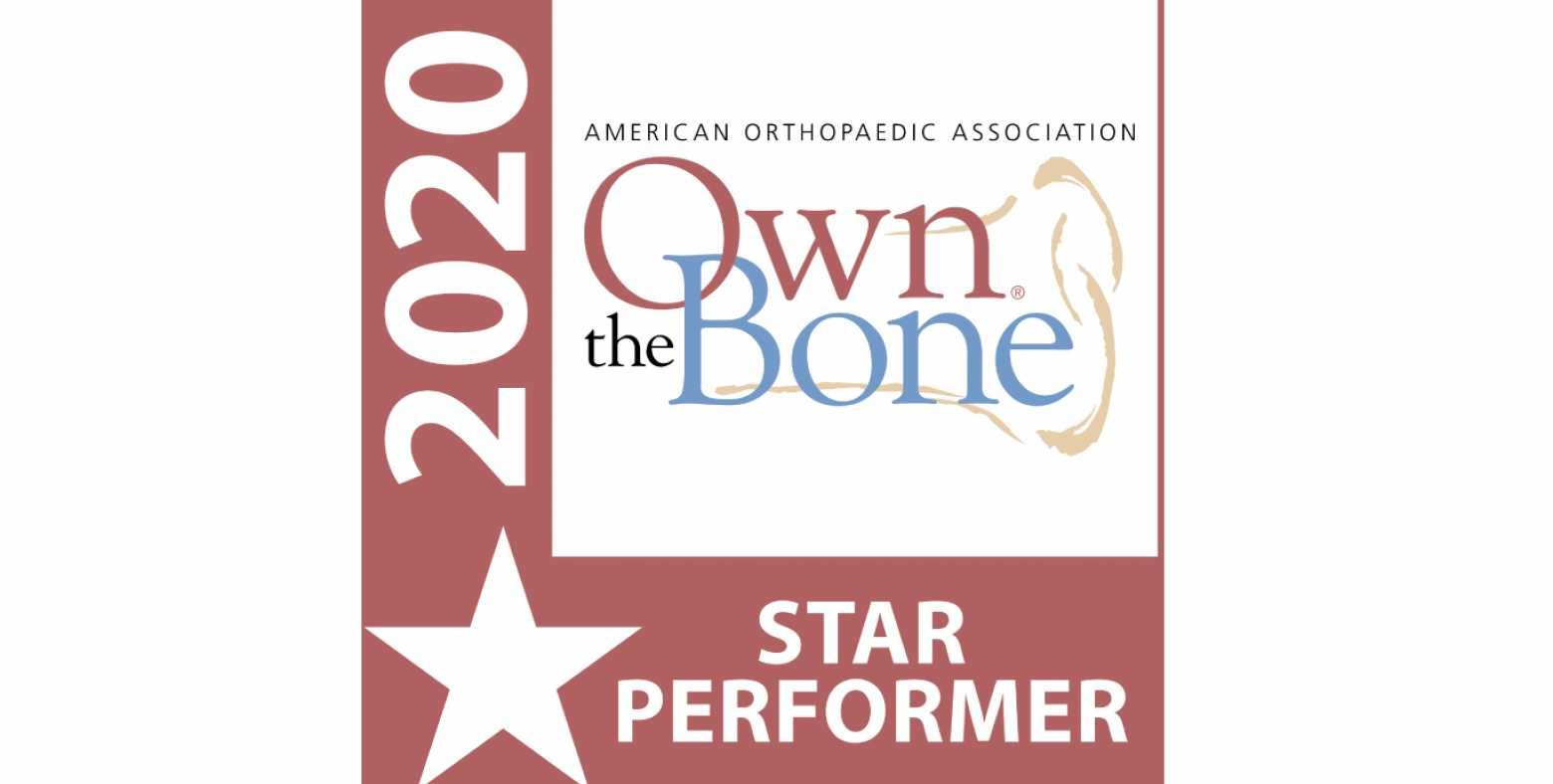 Own the Bone 2020 Designation Seal
