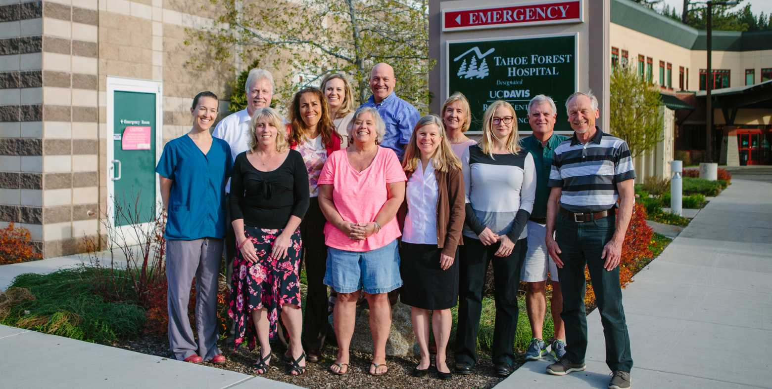 Patient and Family Advisory Council members