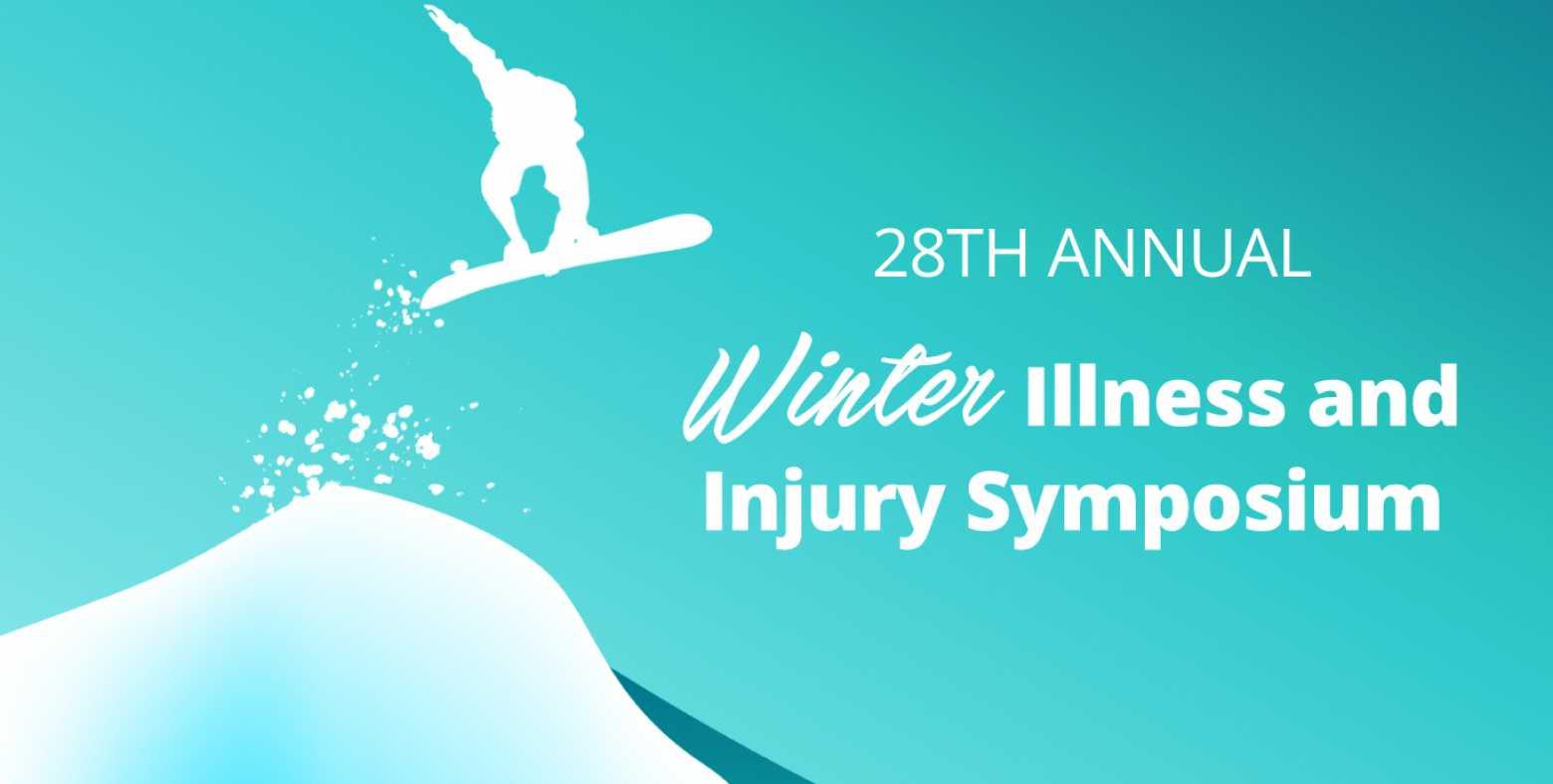28th Annual Winter Illness and Injury Symposium (WIIS) graphic