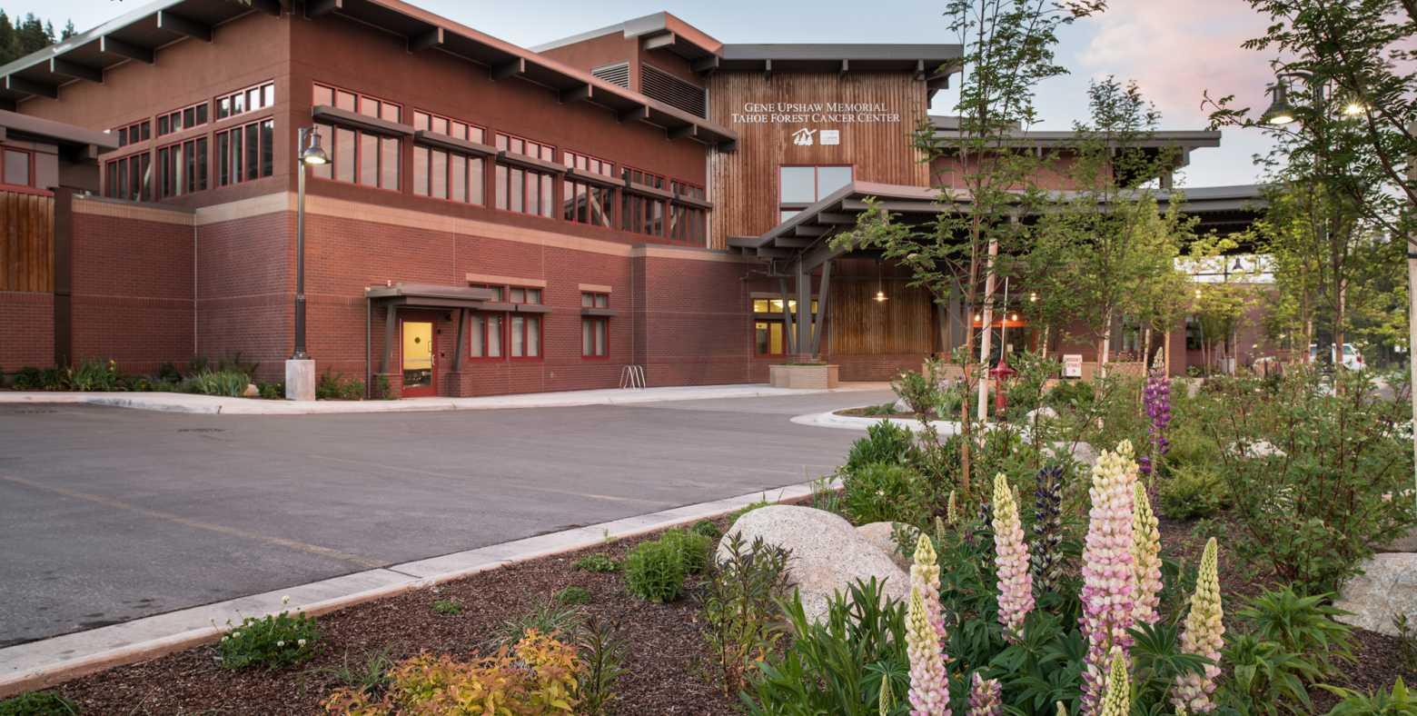 Gene Upshaw Memorial Tahoe Forest Cancer Center exterior
