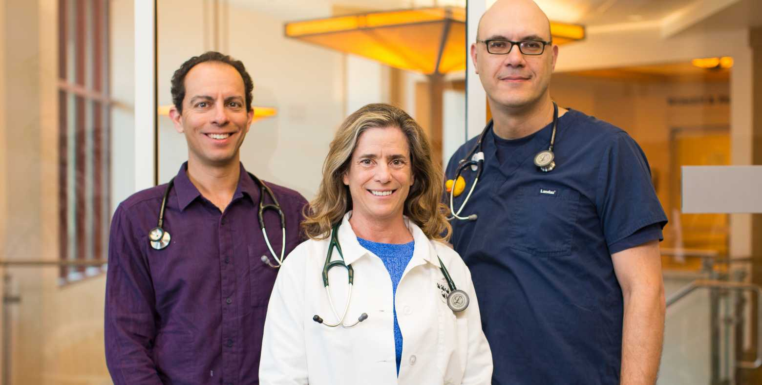 Dr. Celia Sutton-Pado. Dr. Oleg Vayner, and Dr. Joshua Scholnick