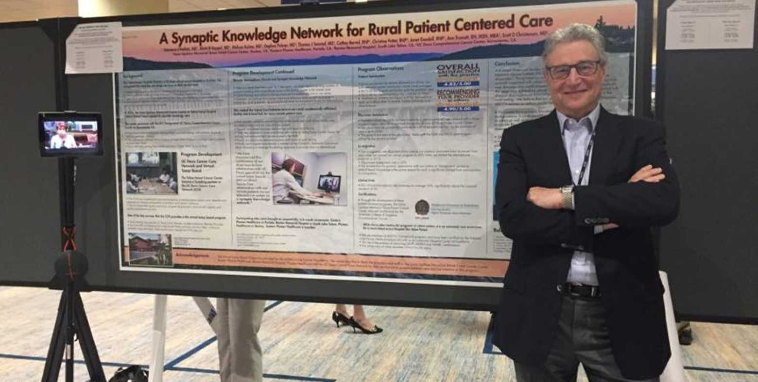 Dr. Heifetz at the 2017 American Society of Clinical Oncology Quality Symposium
