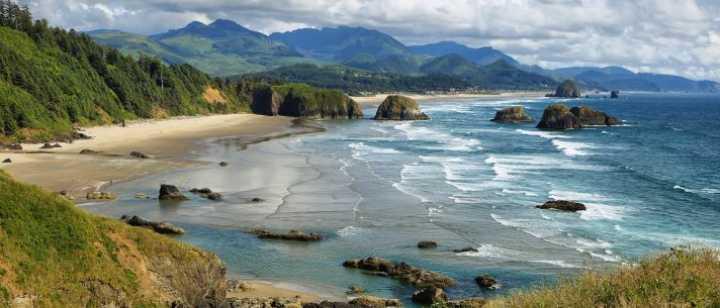 Oregon Coast and waters