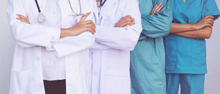 doctors in different uniforms