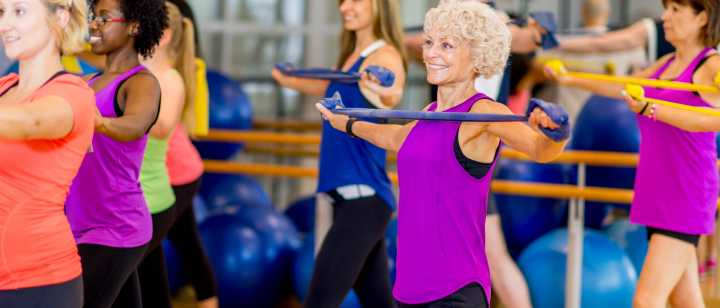Active Aging Fitness Class