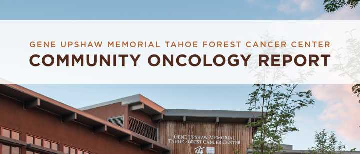 Community Oncology Report cover