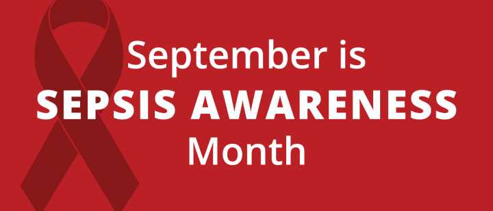 Sepsis Awareness Month Banner