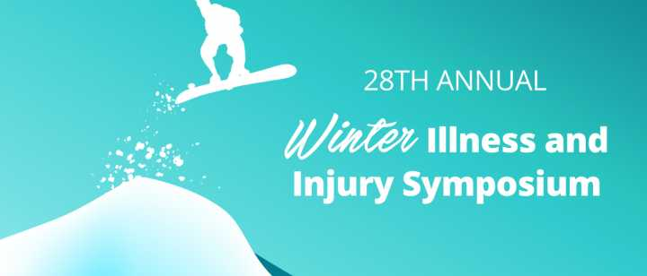 28th Annual Winter Illness and Injury Symposium (WIIS) graphic